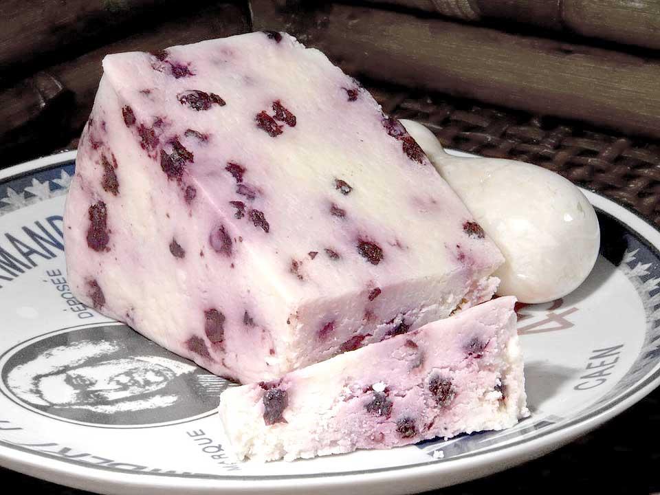 Τυρί blueberry